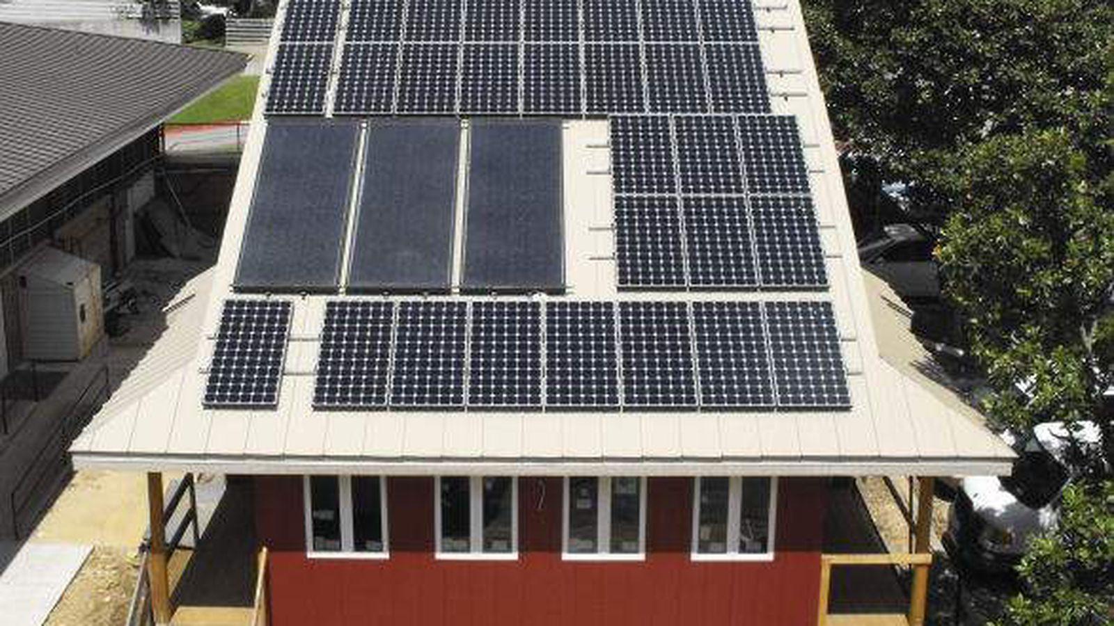 energy-efficiency goals, solar rebates