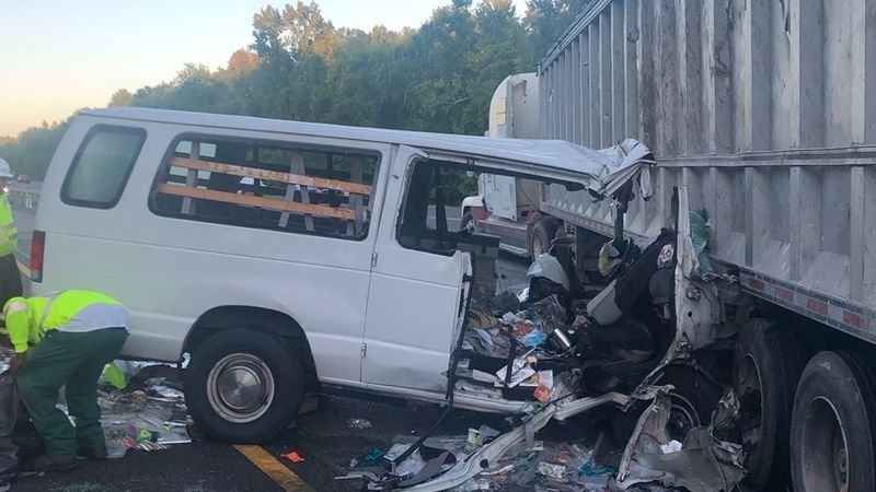 Semi driver blamed in crash that tied up I-275 north of Tampa