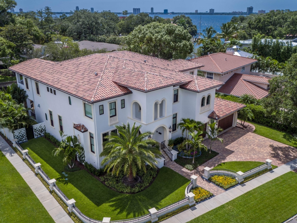 This home on Tampa's Davis Islands sold in December 2017 for $3.325 million. [Courtesy of James Walters]