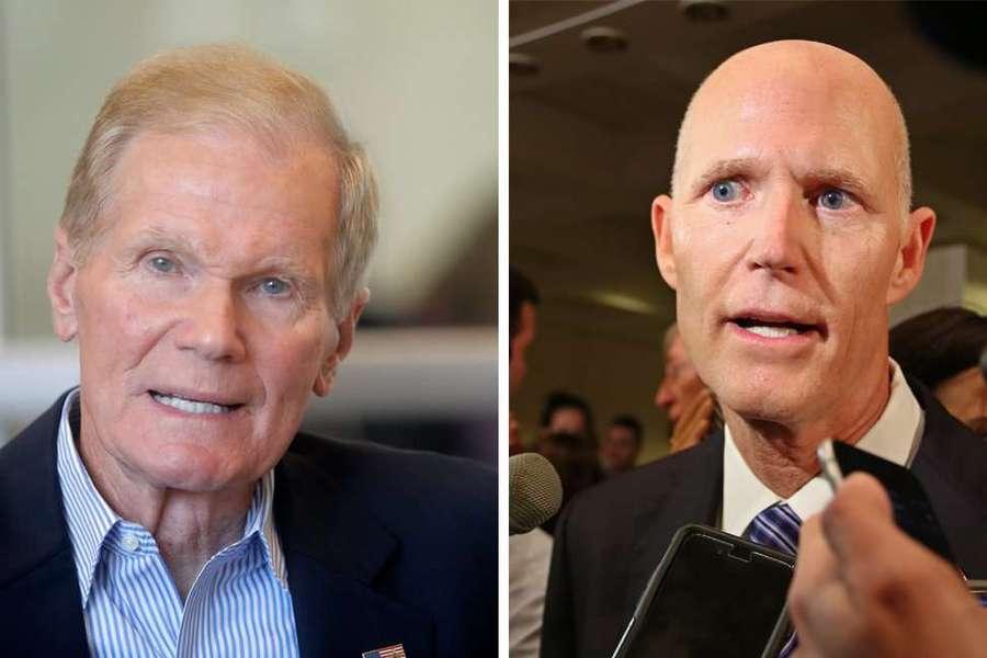 Rick Scott demands Bill Nelson provide proof of Russian election