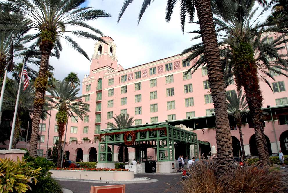 The historic Vinoy Resort in downtown St. Petersburg. Times (2009)