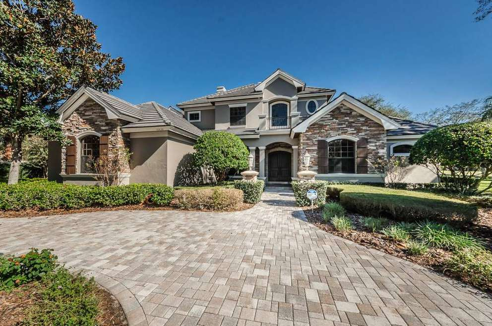 This home in the Trinity area of Pasco County sold for $1.175 million in 2018. [Courtesy of Denise Wooley]