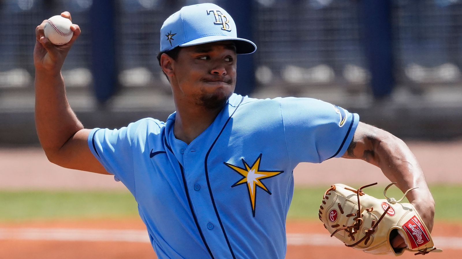 Rays' Chris Archer shows off changed up change-up