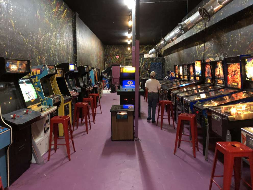 The Pinball Arcade Museum is set to open Aug. 1. [Christopher Spata   Times]