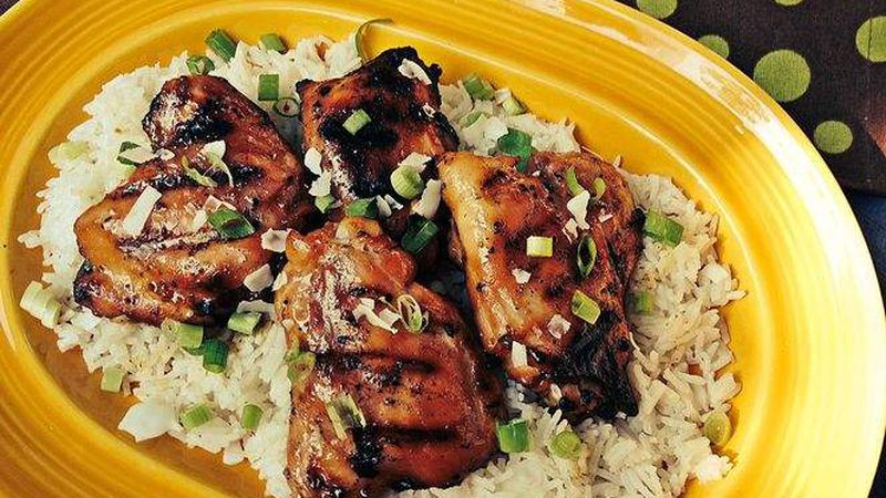 Cookclub Recipe No 17 Hawaiian Grilled Chicken With