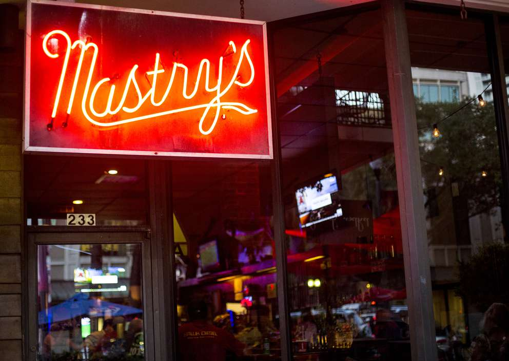 Mastry's Bar, an iconic dive at 233 Central Ave. in St. Petersburg. Times (2014)