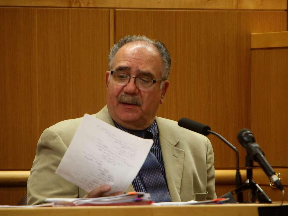 Psychologist Richard Cipriano testifies Wednesday. SCOTT KEELER | Times