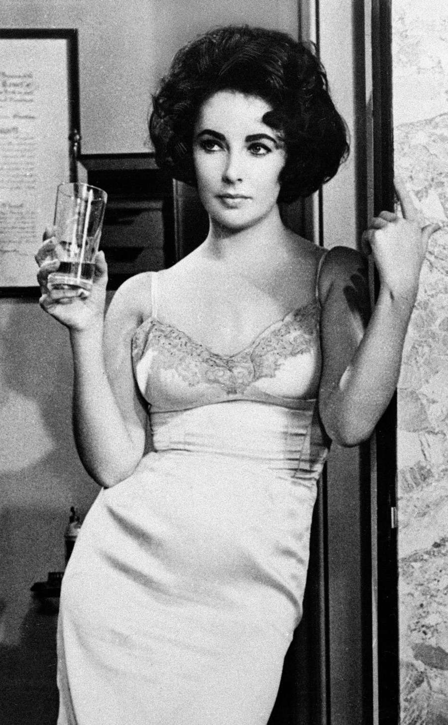 Elizabeth Taylor in BUtterfield 8 in 1961. (AP Photo/File)