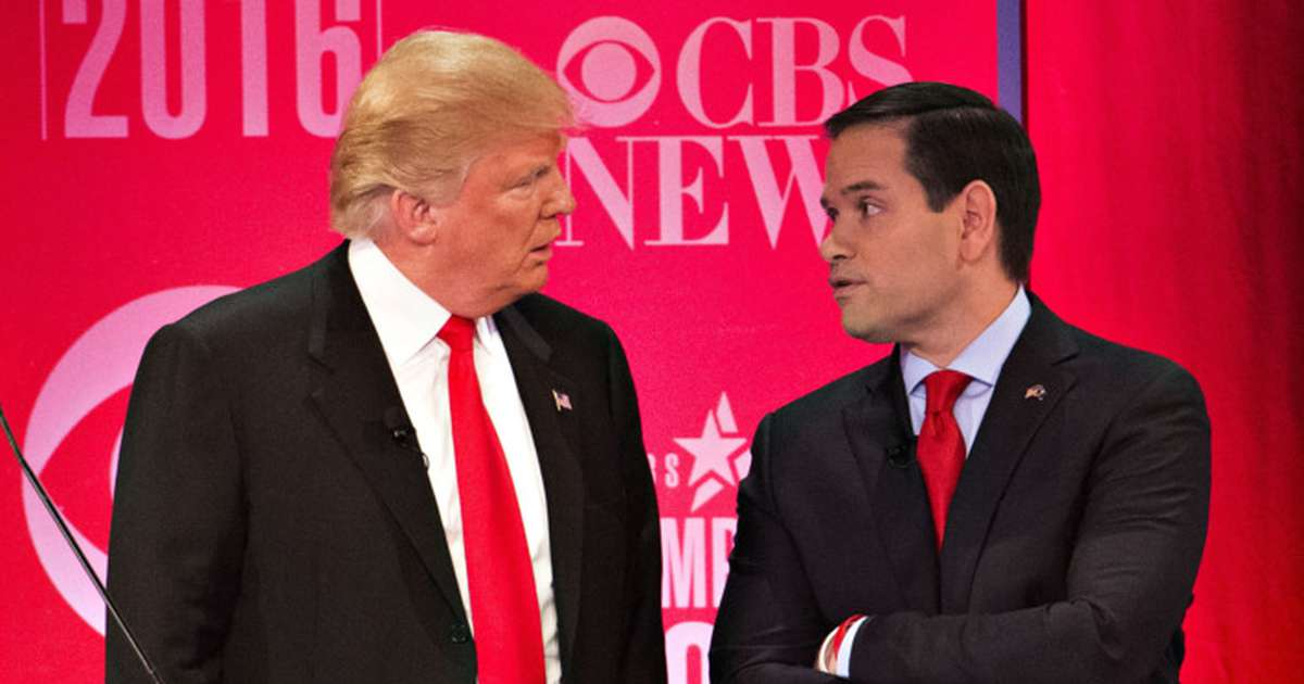 Rubio's reaction to Trump's 's—hole' remarks avoids direct condemnation