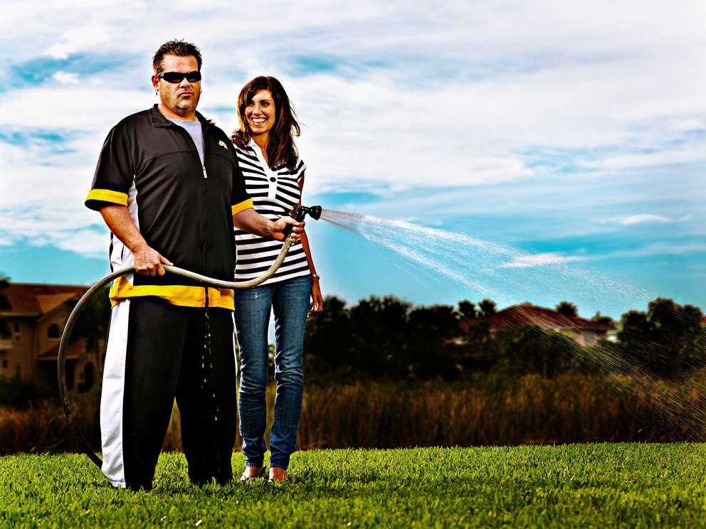 Bubba at home with then wife Heather Clem in 2007. [Times Files]
