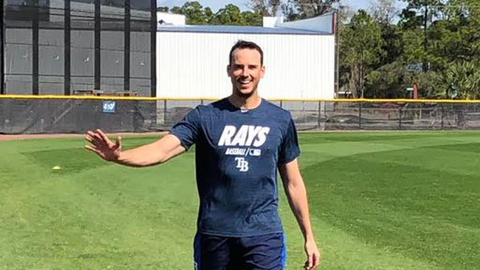 did you hear this one about new rays pitcher charlie morton rays pitcher charlie morton