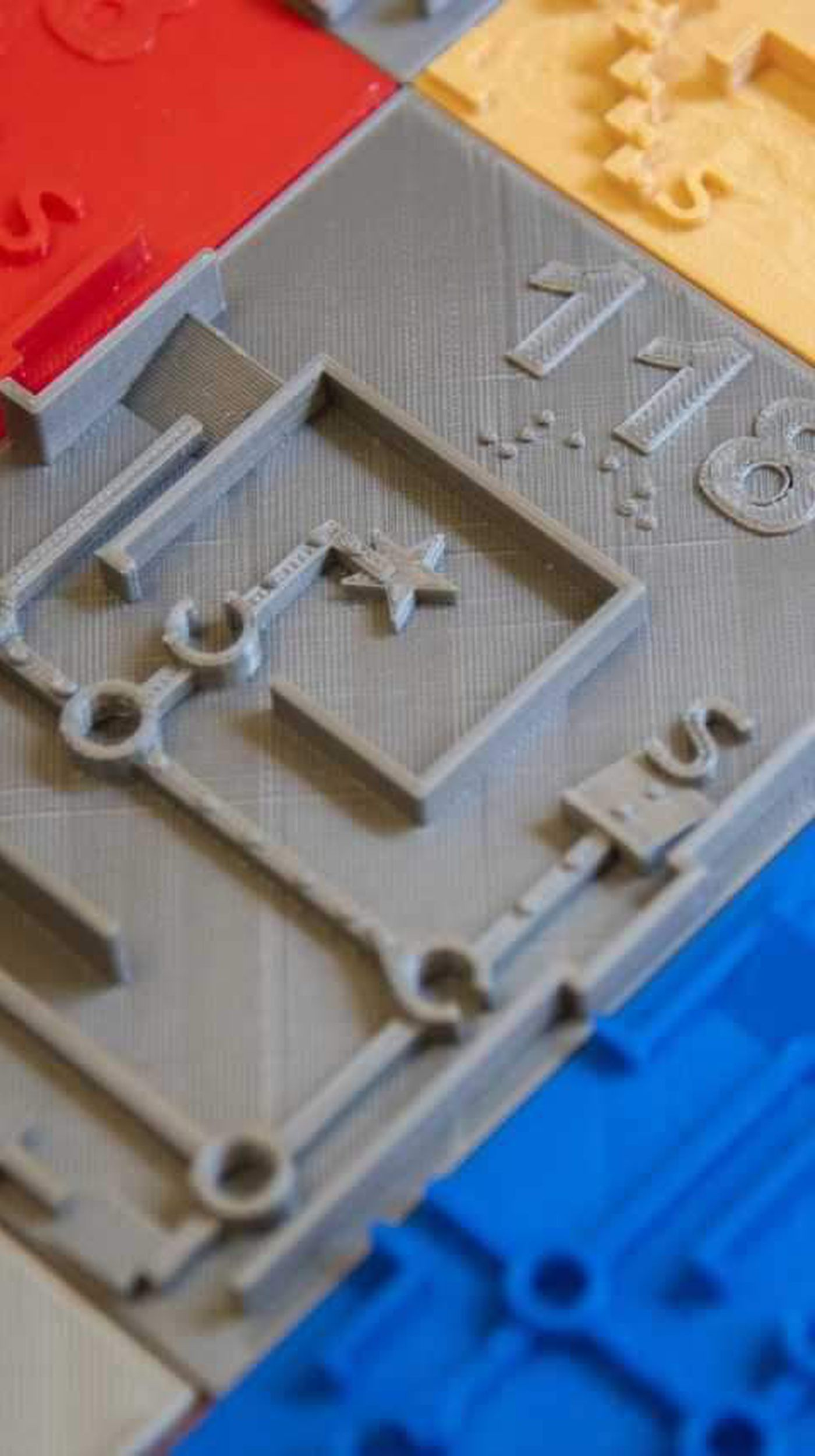 Unique tactile map made on 3-D printer could have widespread use on
