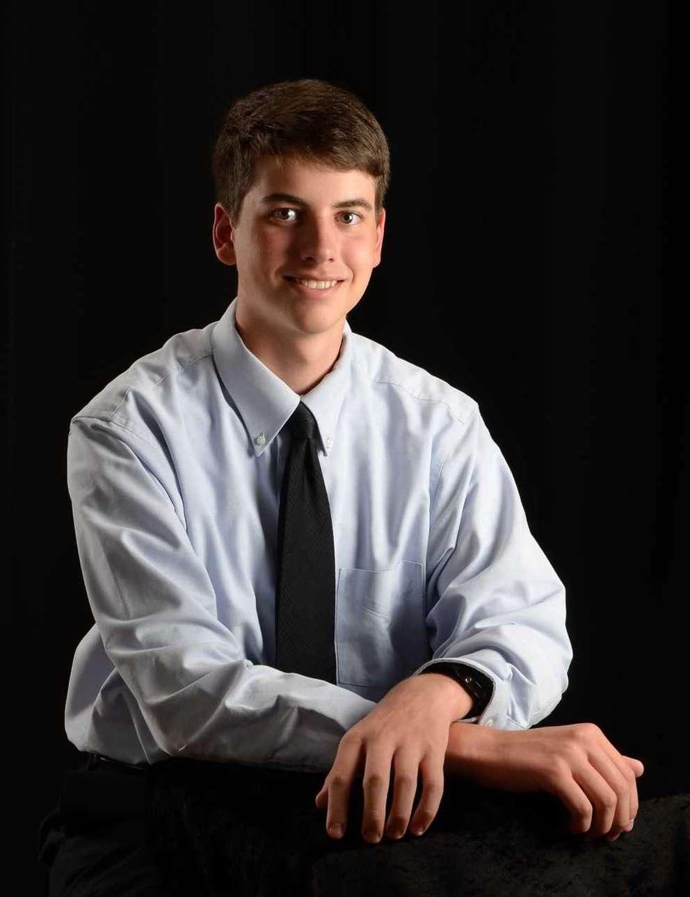 David Lawrence Polar is the 2018 salutatorian at Keswick Christian School.