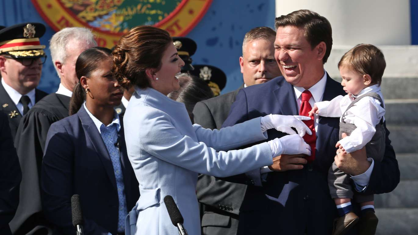 Ron Desantis Sworn In As Florida S 46th Governor Tampa