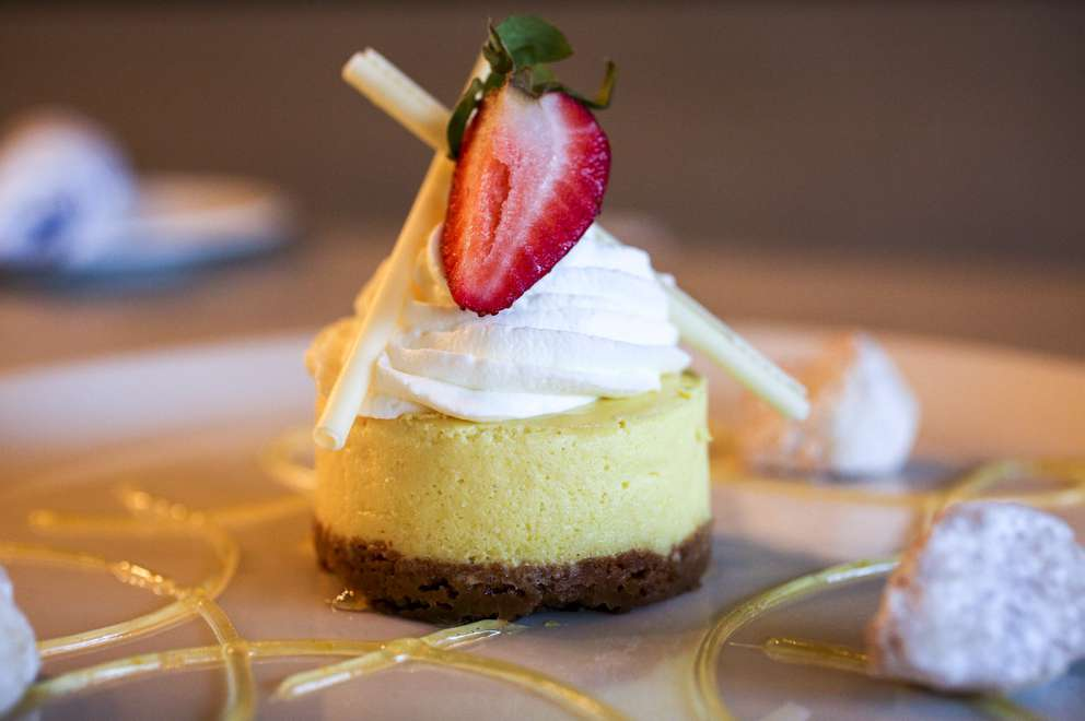 Limoncello cheesecake at Sophia's Cucina and Enoteca on Thursday, Aug. 1, 2019 in St. Petersburg. MARTHA ASENCIO-RHINE | Times