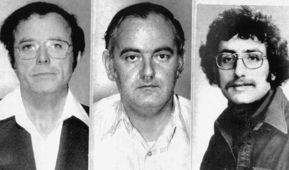 In 1976, a New York jury acquitted Dominic Byrne and Mel Patrick Lynch of kidnapping Seagram liquor heir Samuel Bronfman II (right) for a $2.3 million ransom, but convicted both on grand larceny charges. (Associated Press)