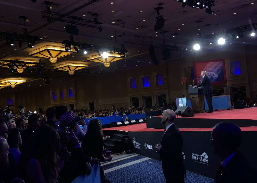 Conservatives Gather in Maryland for CPAC 2018