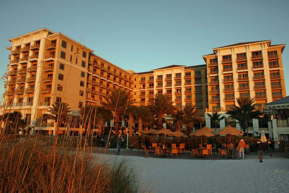 The Sandpearl Resort on Clearwater Beach. Times (2010)