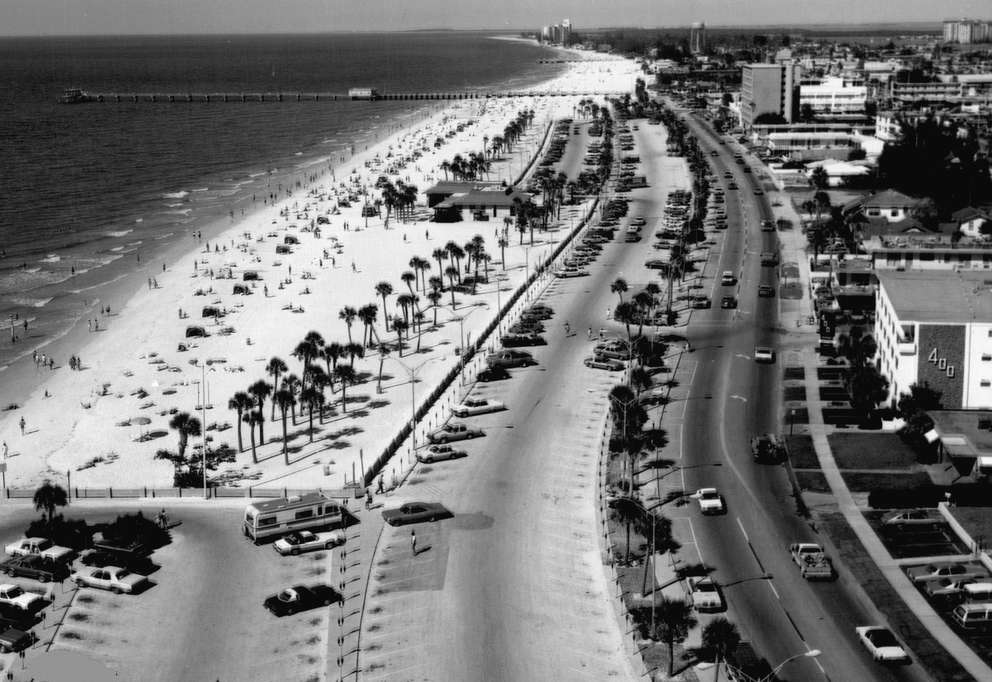 Clearwater Beach in 1980. Times