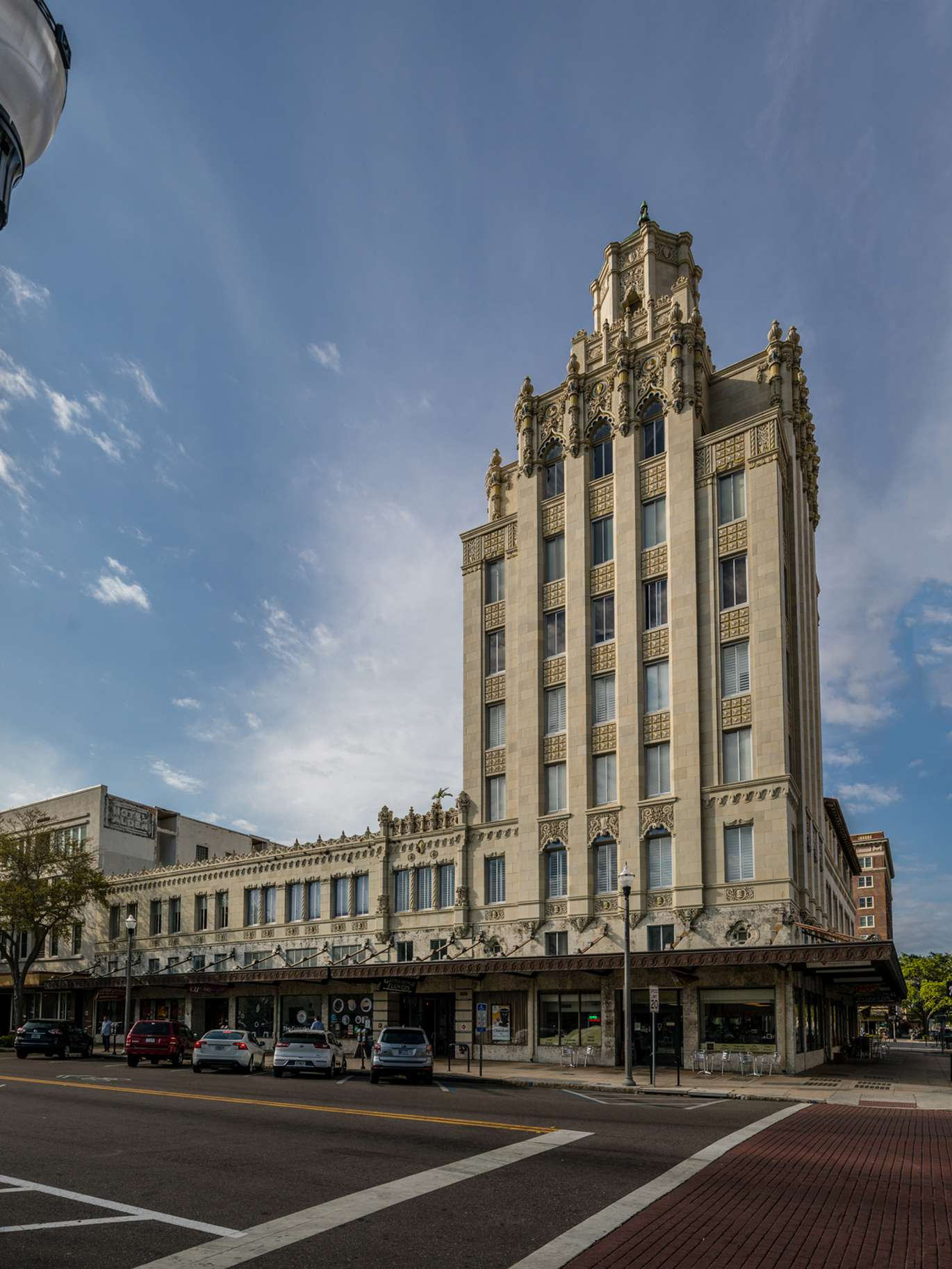 A two-bedroom, two-bath condo is on the market in the historic Snell Arcade in downtown St. Petersburg.
