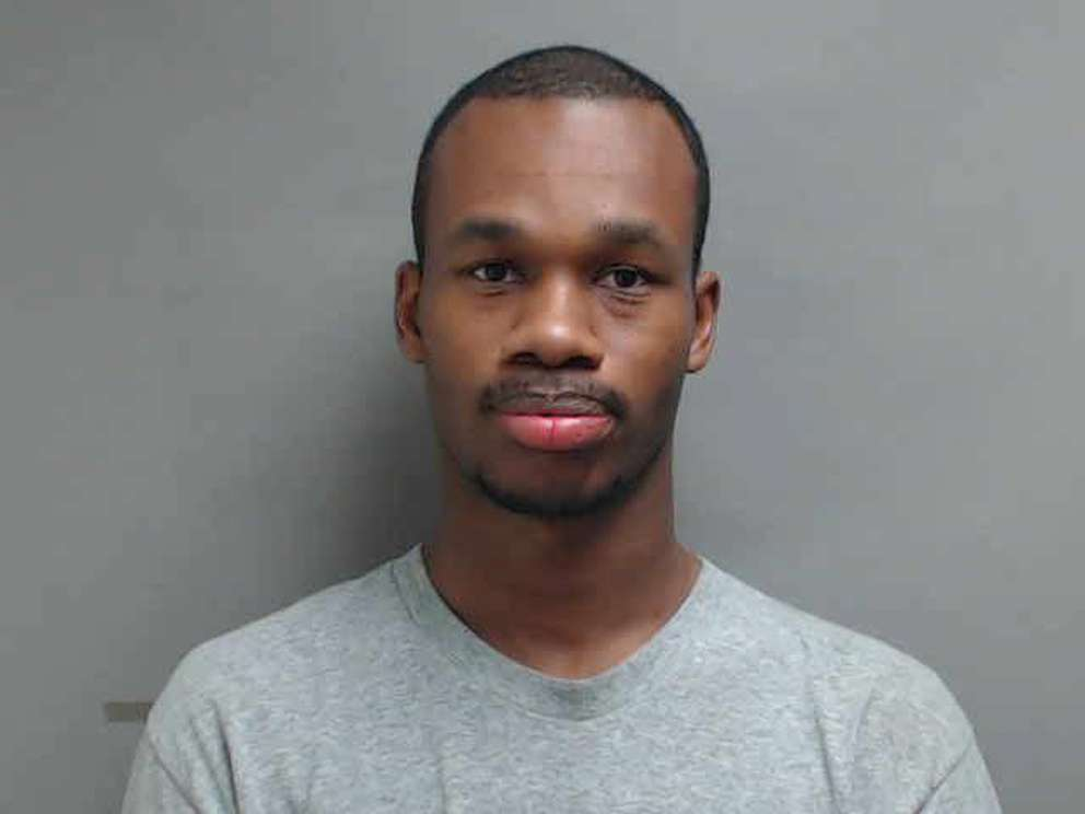 Antoine McDonald in mugshot from South Brunswick Police press release. [South Brunswick Police Department]