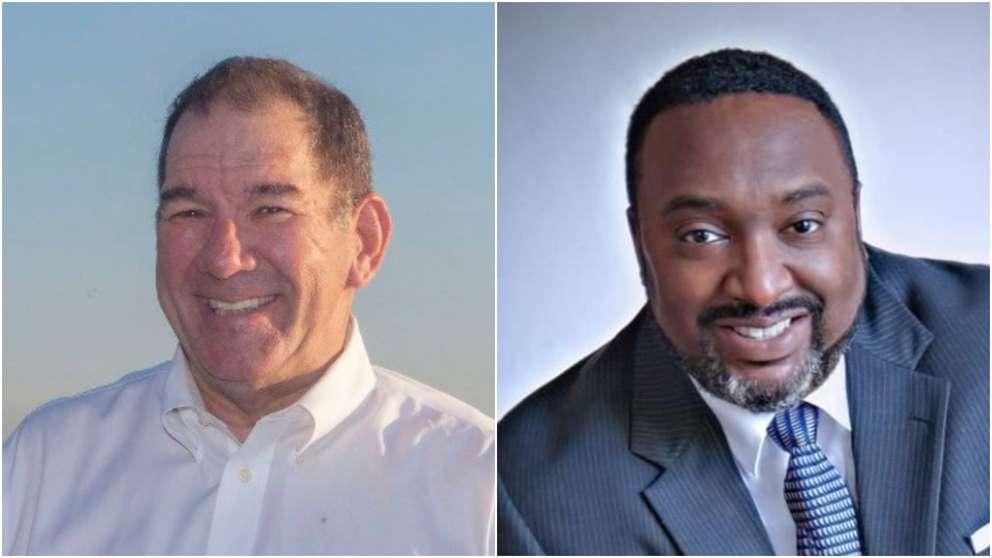 The candidates for Tampa City Council District 1 are Joseph Citro, left, and Walter Smith II, right. [Citro, Smith campaigns]