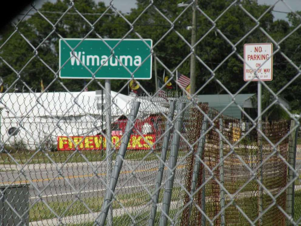 Wimauma sign. KATHY STRAUB | Special to the Times