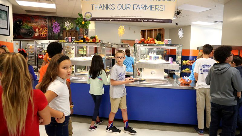 Nearly 200,000 Florida students could lose free school lunch under rule changes