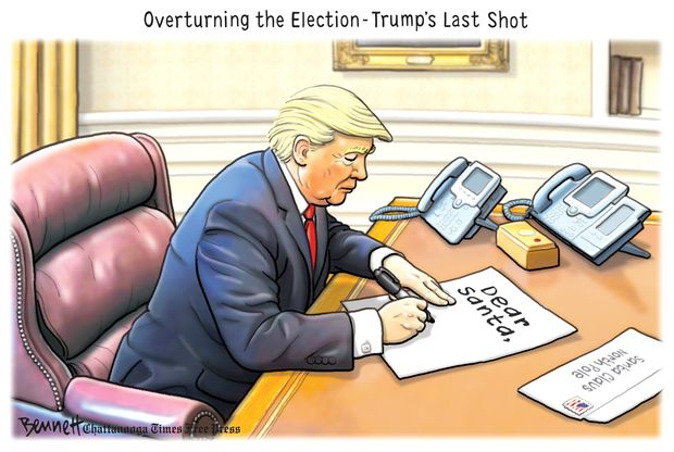 editorial cartoon from times wires