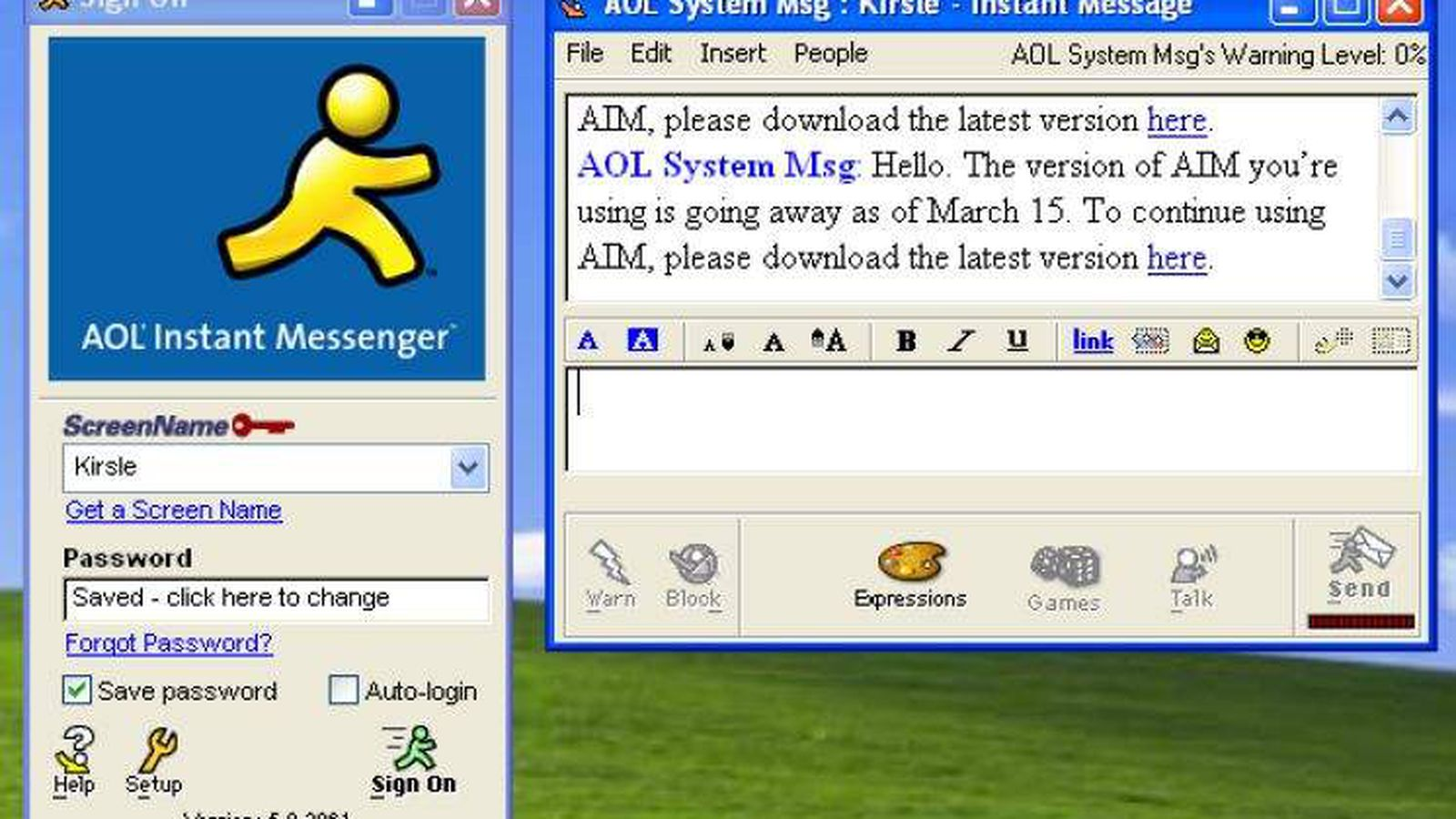 goodbye aol instant messenger aim is shutting down in december goodbye aol instant messenger aim is