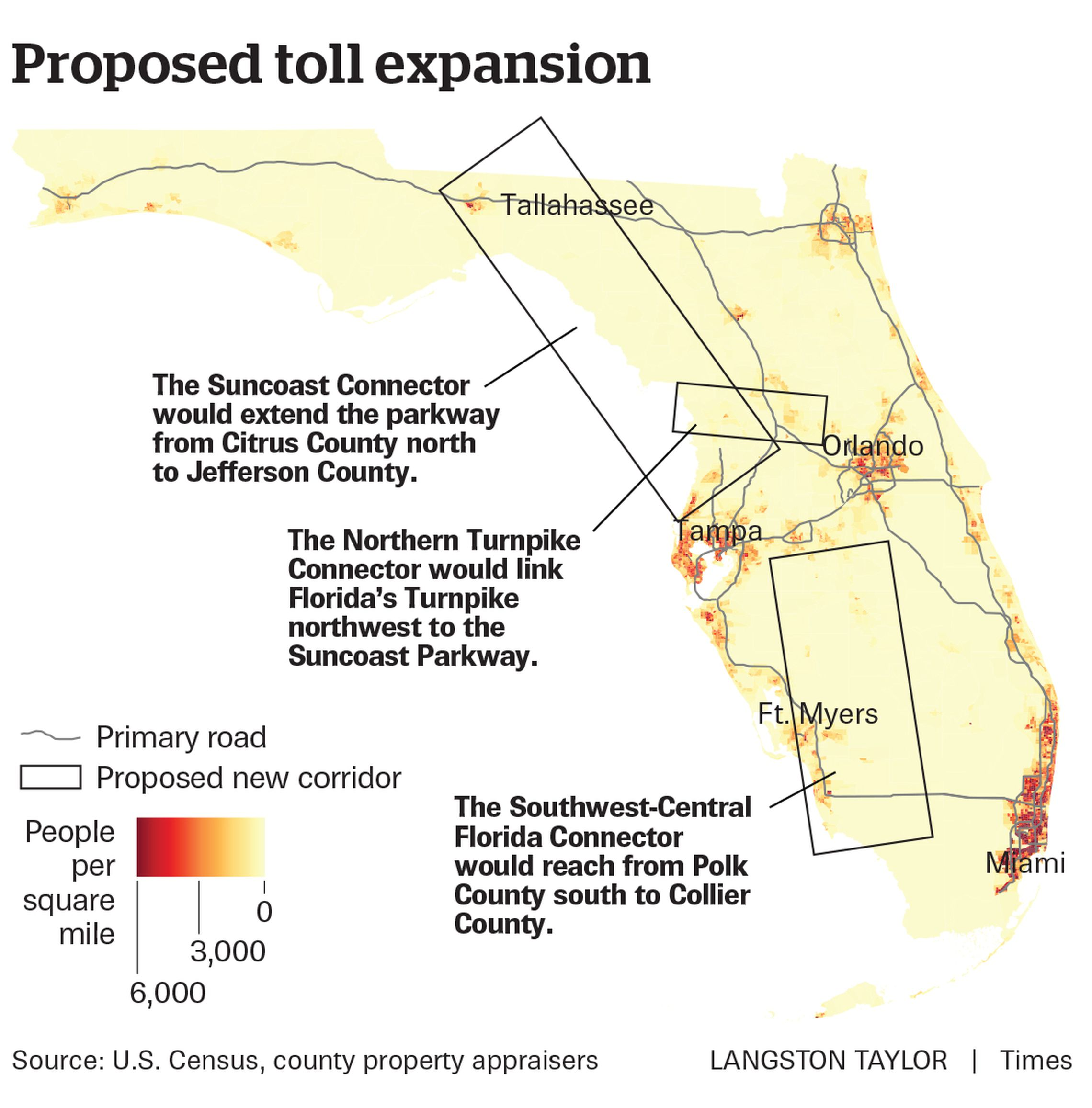 florida's new toll roads are supposed to help these counties