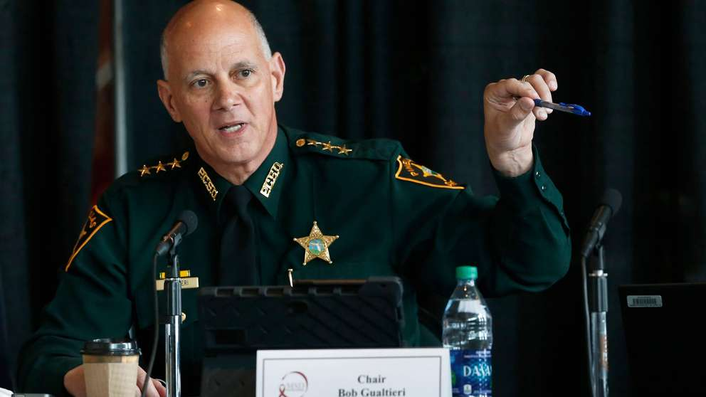 Former Gov. Rick Scott selected Gualtieri to lead the Marjory Stoneman Douglas High School Public Safety Commission. The sheriff came to believe that trained, volunteer teachers should have access to guns so they can stop shooters who get past other safeguards. [AP file]