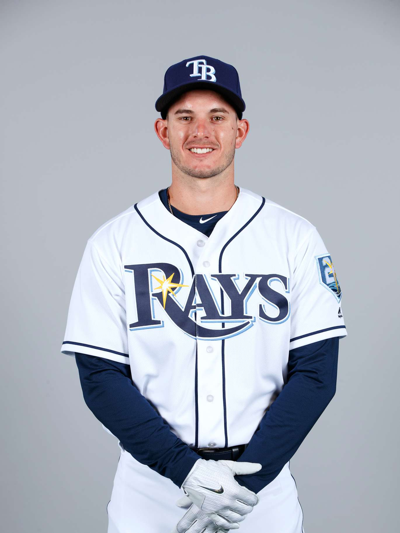 17. Daniel Robertson, inf, No. 28: Will start less at second than lefty-swinging Wendle, but will get time spelling Duffy and Hechavarria, and bat can earn him more.