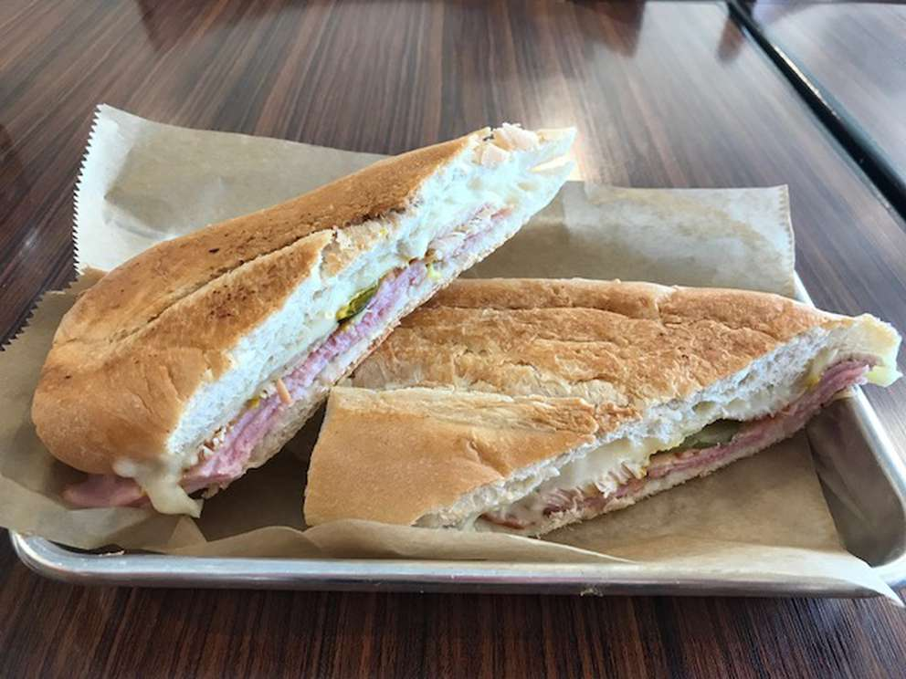 Cuban bread from La Segunda Bakery and Café is used to make the pressed Cuban sandwiches at Tampa's new Cuban Foodies Family Restaurant. [DANIELLE HAUSER | Special to the Times]
