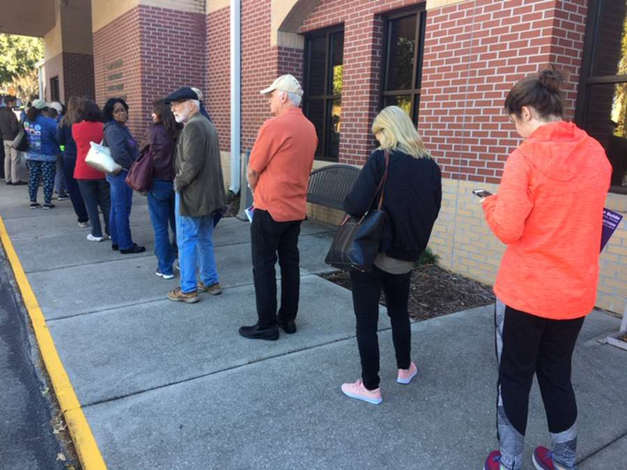 Voter turnout at 47 percent in Clark County on eve of election
