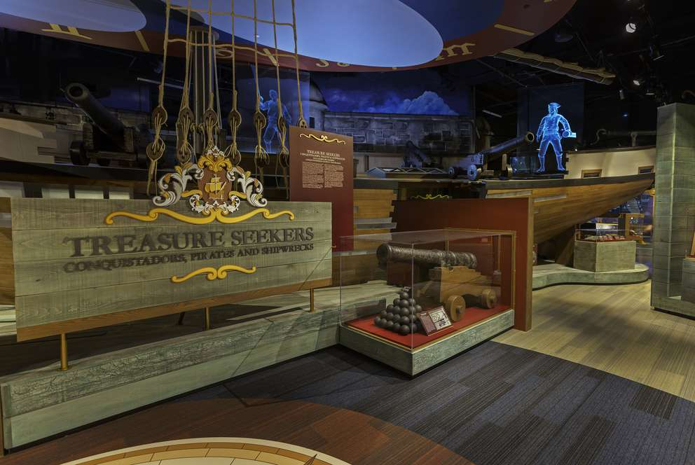 Tampa Bay History Center's new permanent exhibit
