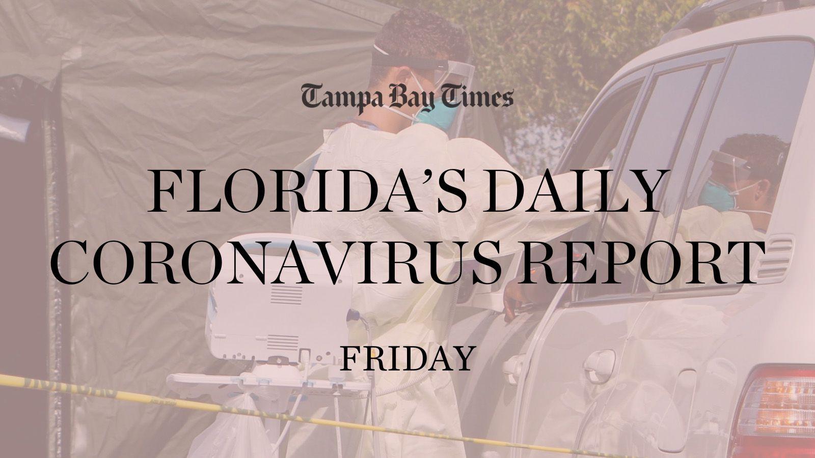 Florida Adds 5 245 Coronavirus Cases 54 Deaths Friday