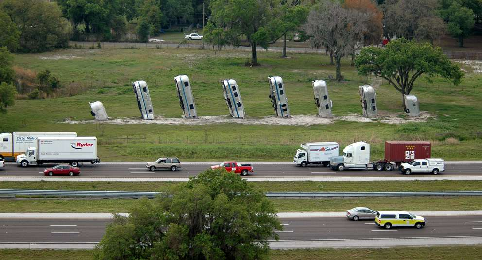 Frank Bates used to own this display along I-4. Times (2008)