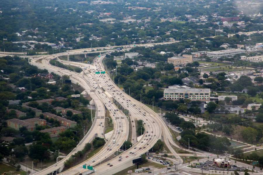 Interstate 275 in Tampa