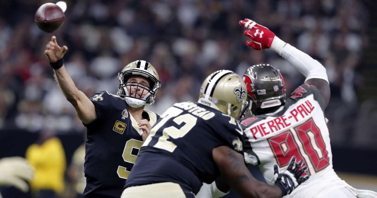 6dc3359de45fe Live! Bucs offense explosive in 48-40 win over Saints | Tampa Bay Times