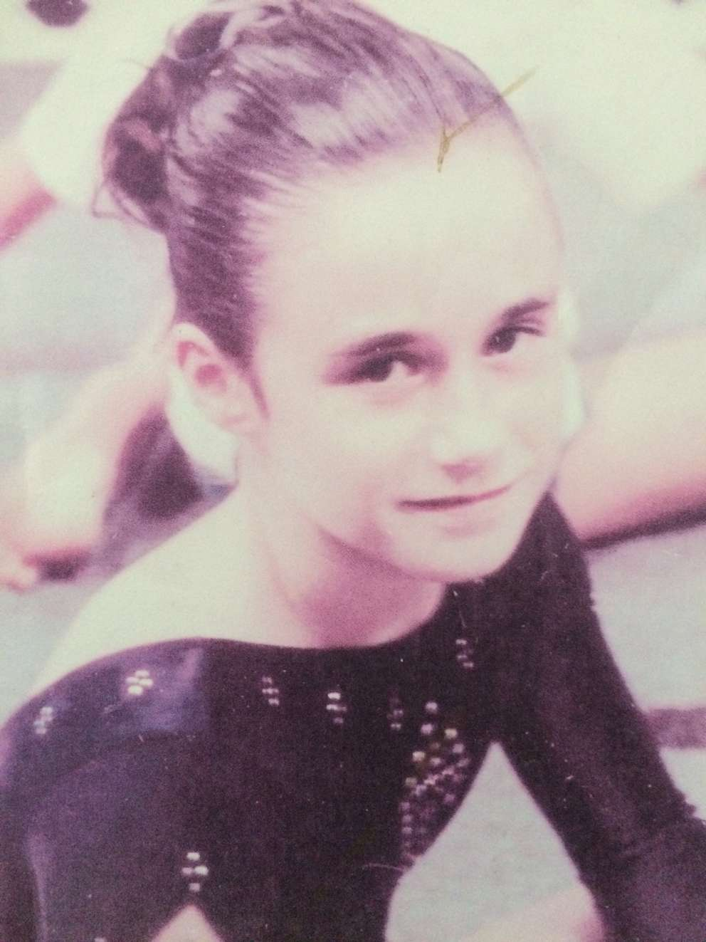 Shelby Hilton at a Tampa Bay Turners meet when she was 6. (Image courtesy Donna Hilton)