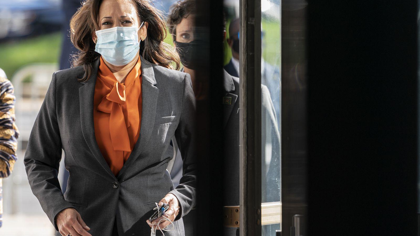 Kamala Harris Suspends Travel After Staffer Tests Positive For The Coronavirus