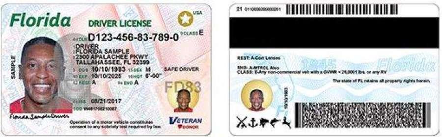 florida driver license change address requirements