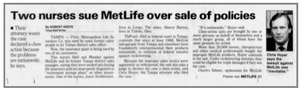 From the St. Petersburg Times, Nov. 2, 1993