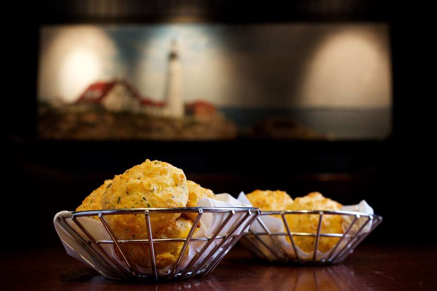 Red Lobster's Cheddar Bay Biscuits are so popular, you can get a mix from the supermarket to make them at home. [Photo by Deb Lindsey for the Washington Post]
