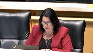 NRA lobbyist Marion Hammer locks sights on Heather Fitzenhagen