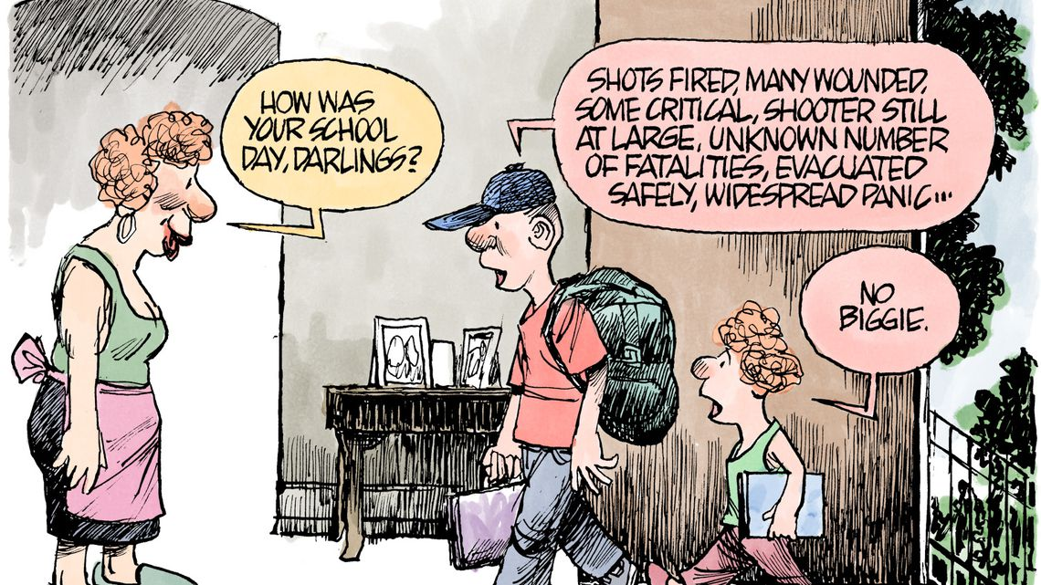 Editorial Cartoons For Friday From Times Wire Services