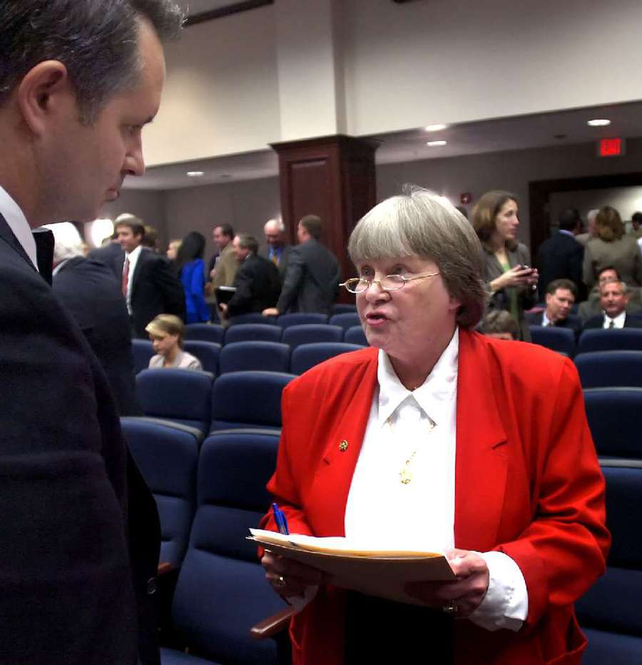 Marion Hammer, the NRA's Florida lobbyist.