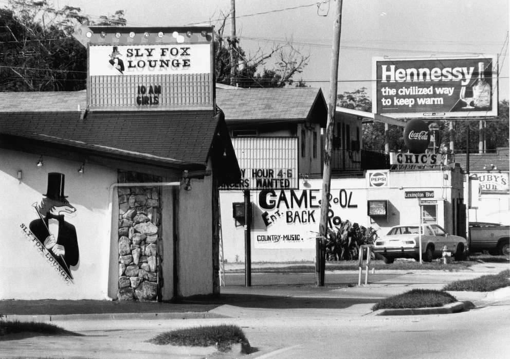 The Sly Fox Lounge, where two of the victims had worked as dancers and several others used to hang out, sat in the middle of a strip of nightclubs on North Nebraska Avenue just north of Fowler Avenue in Tampa. Times (1984)