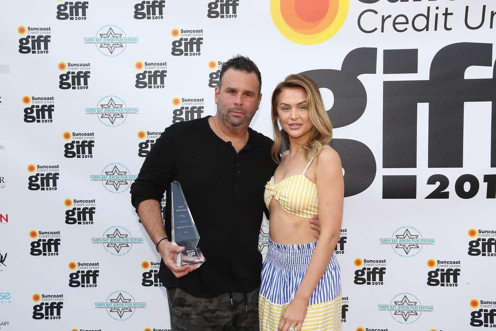 Movie producer Randall Emmett and 'Vanderpump' cast member Lala Kent. [Courtesy of Gasparilla International Film Festival]